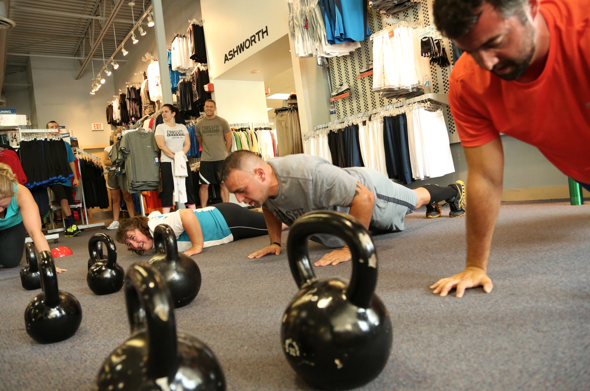 Tuesday, August 7 WOD