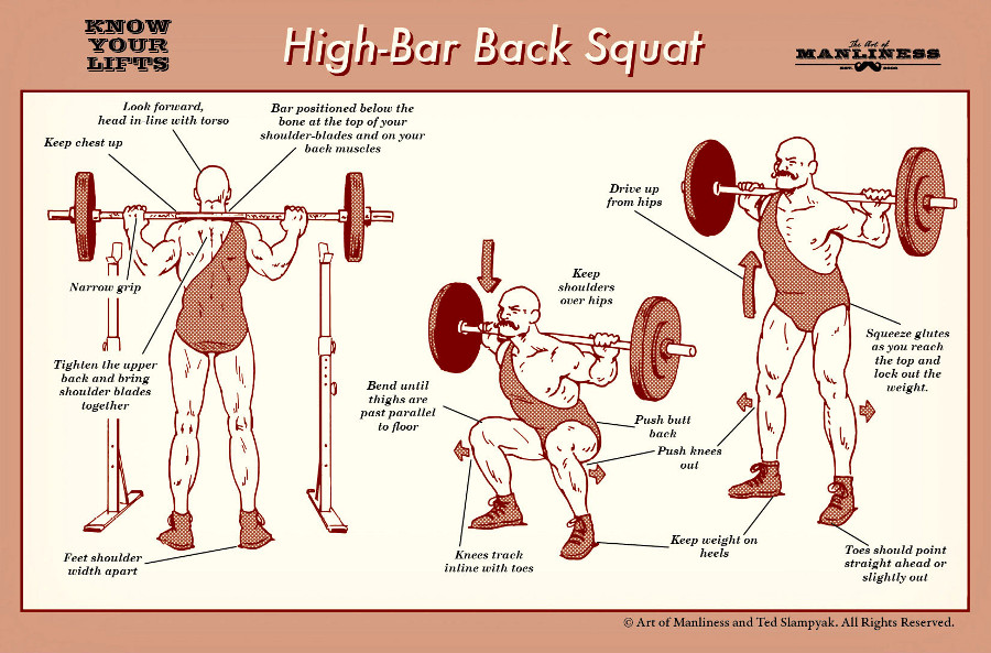 Back Squats Every Day In May