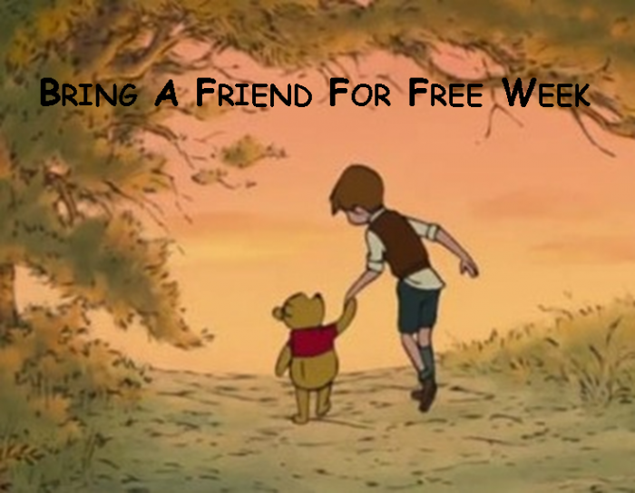 Bring A Friend For Free Week