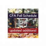 Fall Schedule Changes at CFA